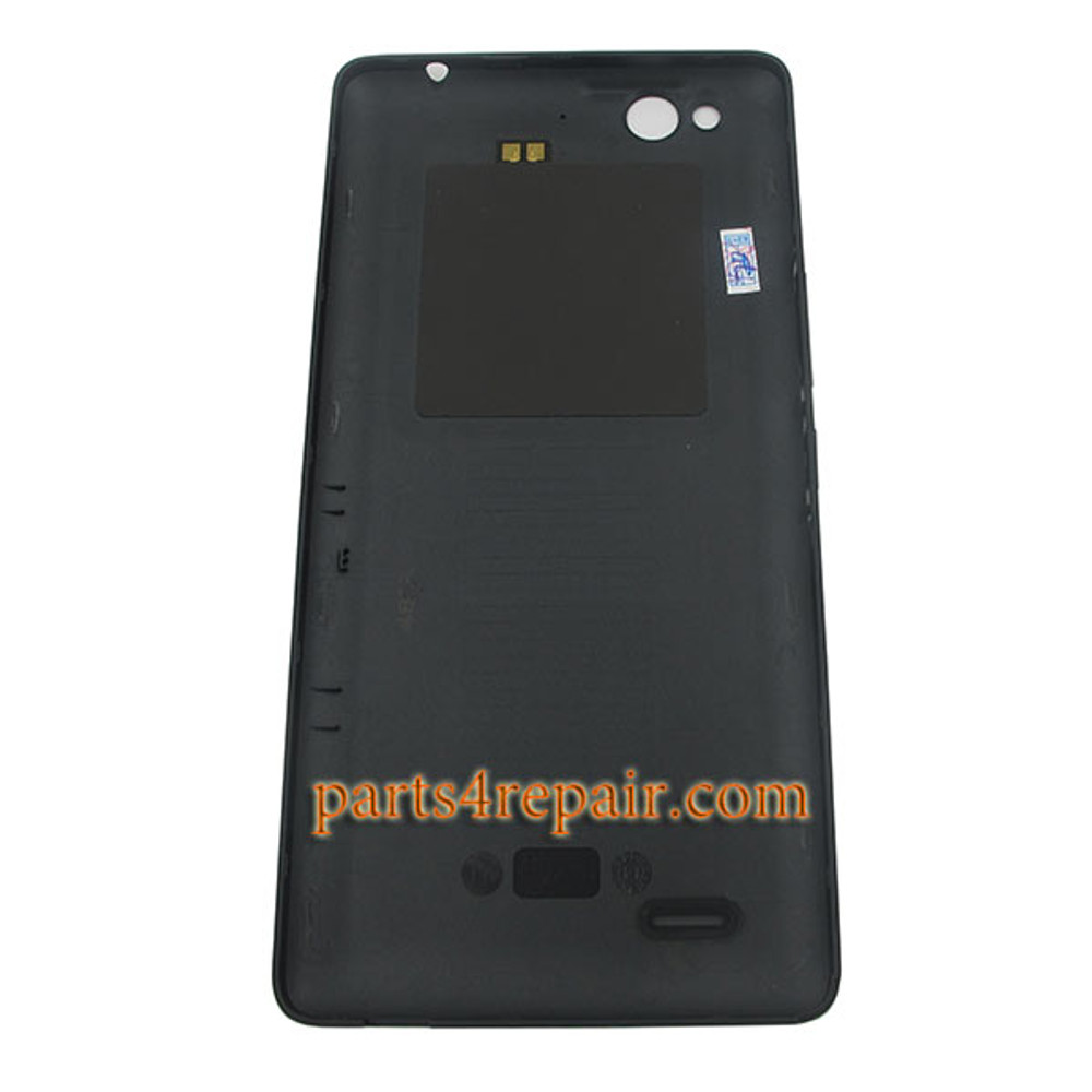 Back Cover with NFC for ZTE Z7 Max NX505J -Black