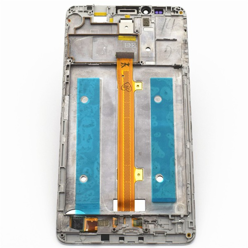 Complete Screen Assembly with Bezel for Huawei Ascend Mate 7 MT7-TL10 -White