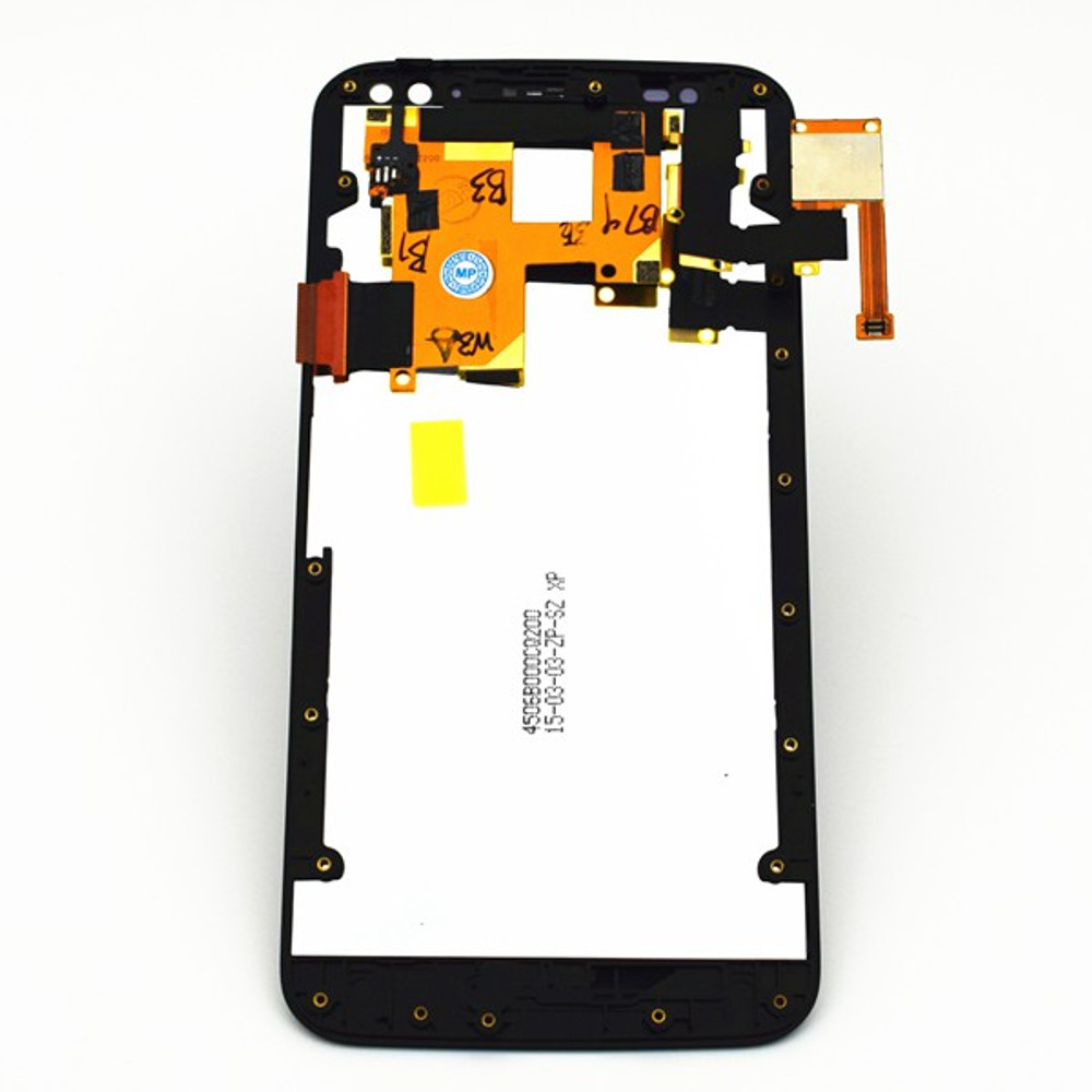 LCD Screen Assembly with Bezel for Motorola Moto X Style XT1575