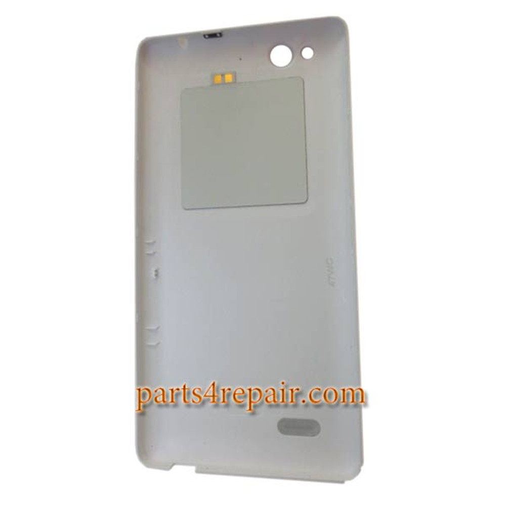 Back Cover with NFC for ZTE Z7 Max NX505J -White