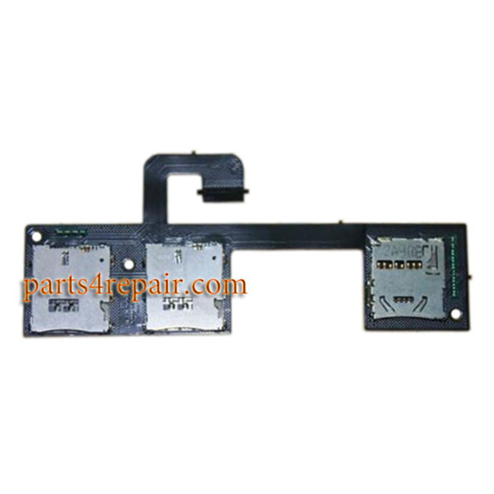 Dual SIM Connector Board for HTC One M7 from www.parts4repair.com