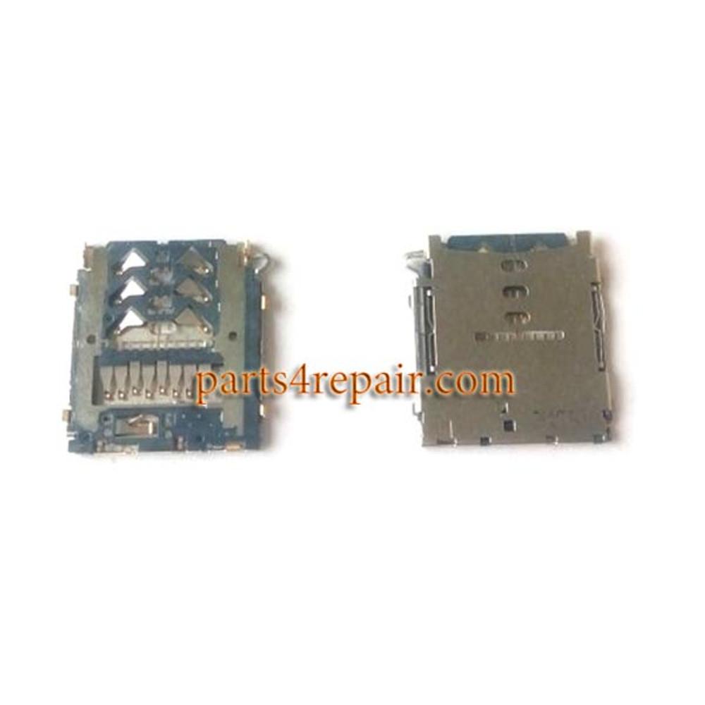 SD/SIM Card Reader for Samsung Galaxy A3 A5 A7 from www.parts4repair.com