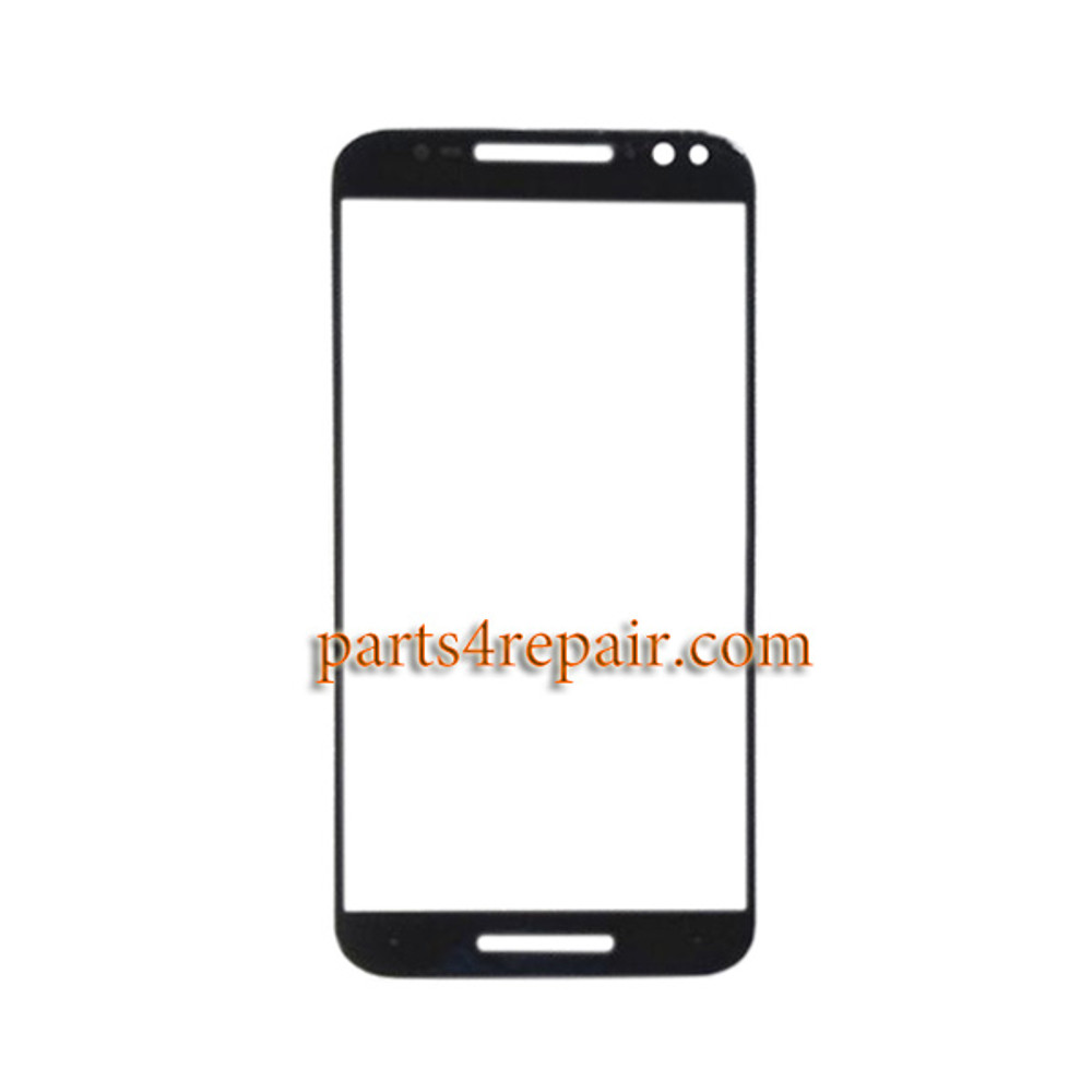 "Front Glass OEM for Motorola Moto X Style XT1572 XT1575 5.7"" -Black"