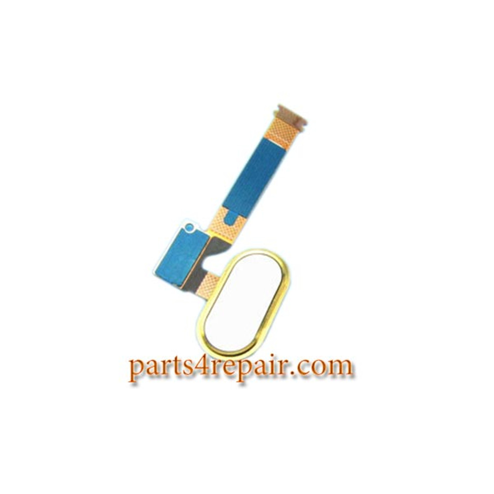 Home Button with Flex Cable for Meizu MX5 from www.parts4repair.com