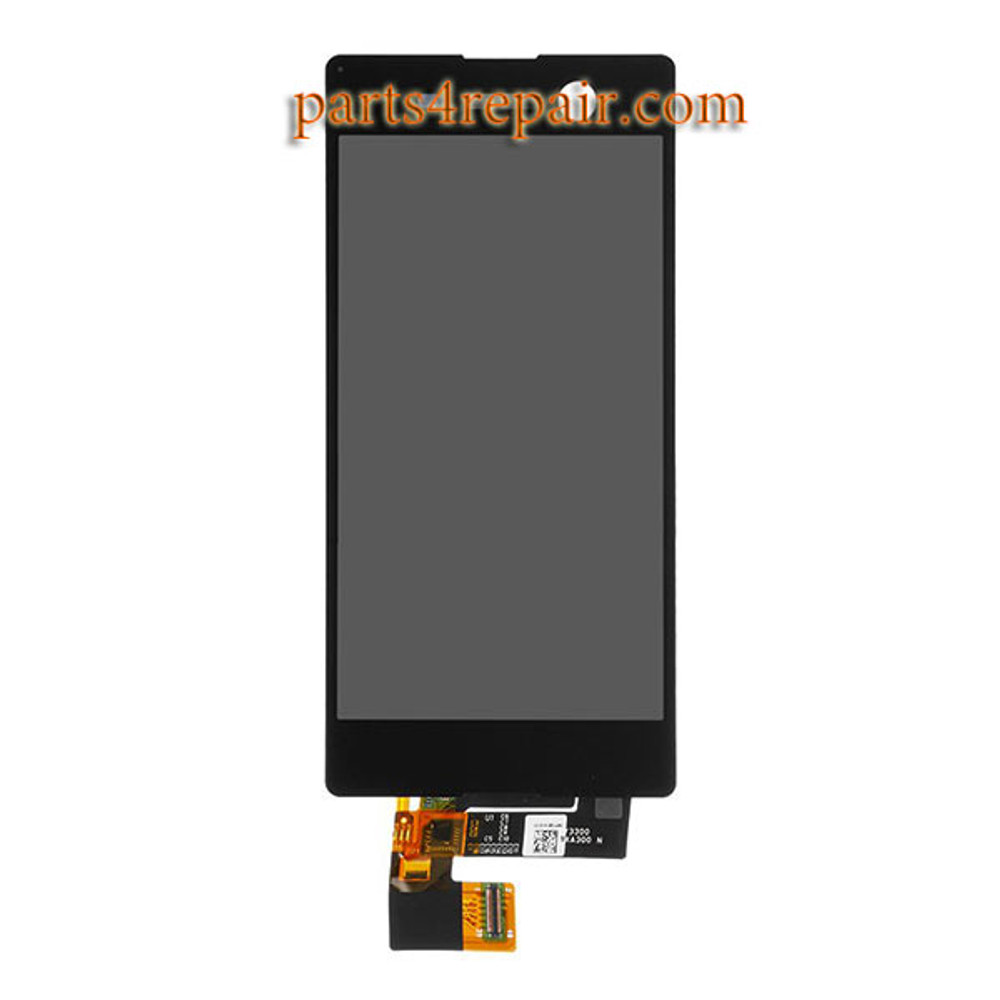 Complete Screen Assembly for Sony Xperia M5 from www.parts4repair.com