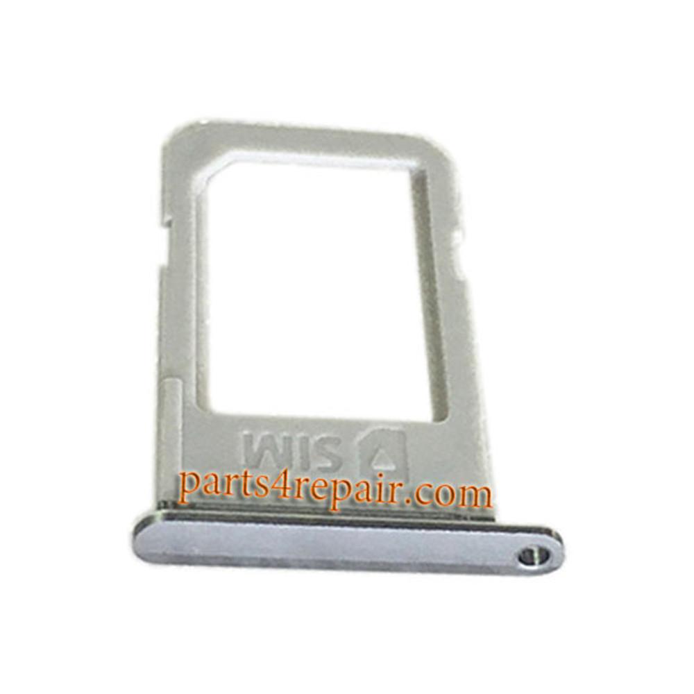 SIM Tray for Samsung Galaxy S6 Edge+ -Gray