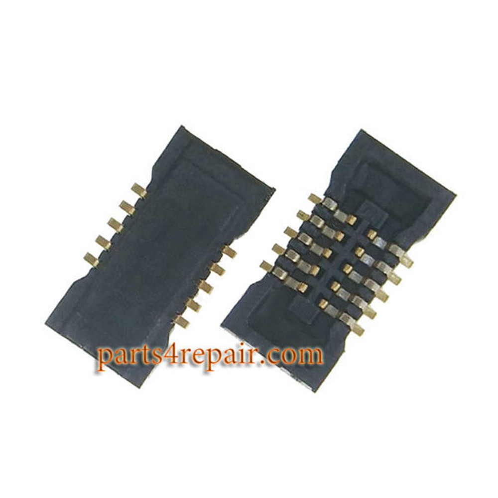 10pin Touch Screen FPC Connector on Main Board for Meizu MX4 Pro from www.parts4repair.com