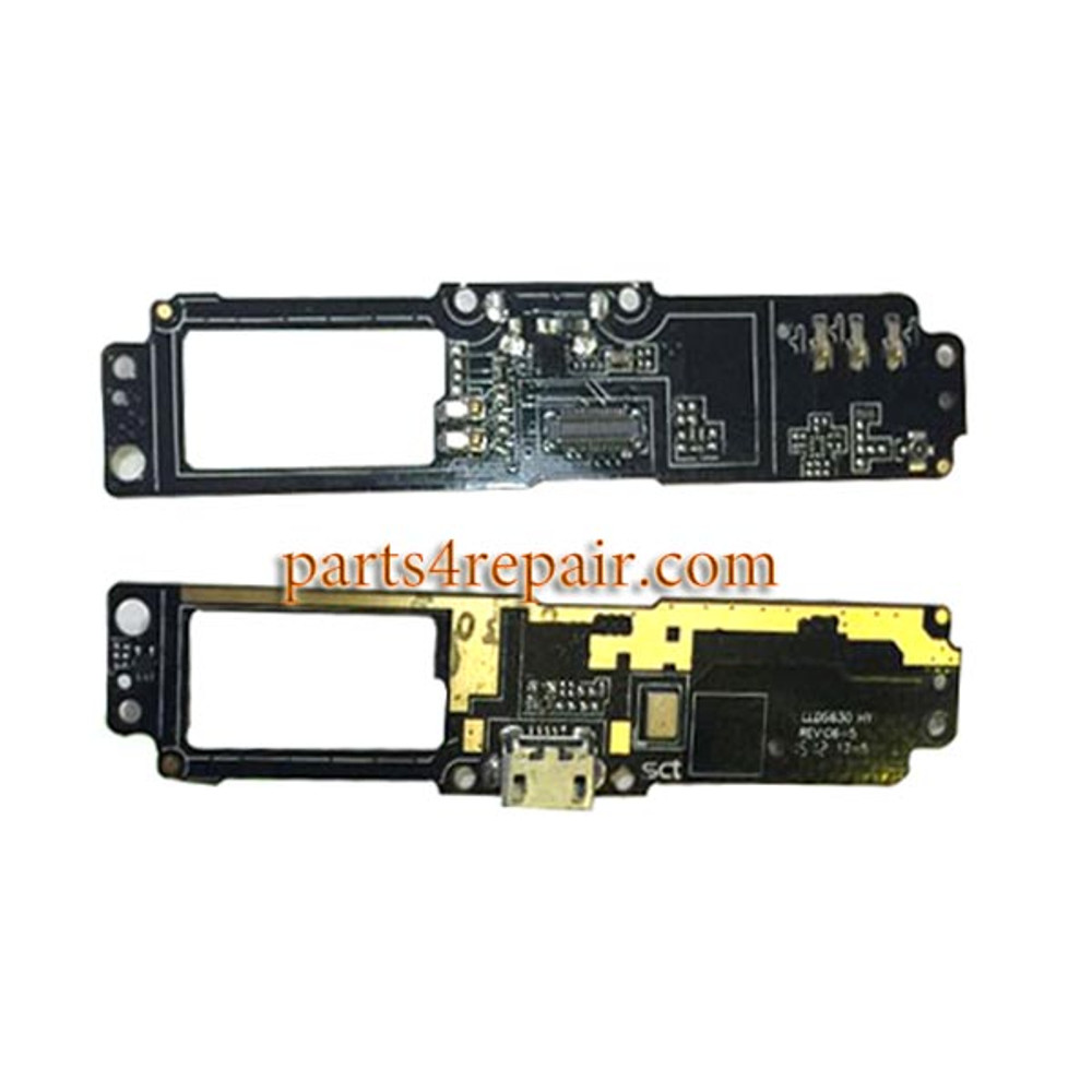 Dock Charging PCB Board for HTC One E9 from www.parts4repair.com