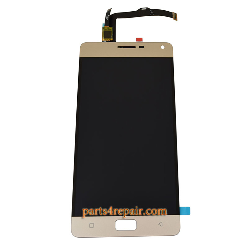 Complete Screen Assembly for Lenovo Vibe P1 from www.parts4repair.com