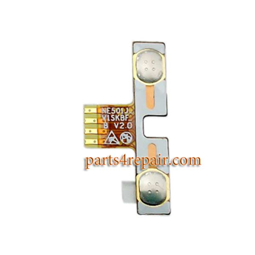 Volume Flex Cable for ZTE Redbull V5 V9180 from www.parts4repair.com