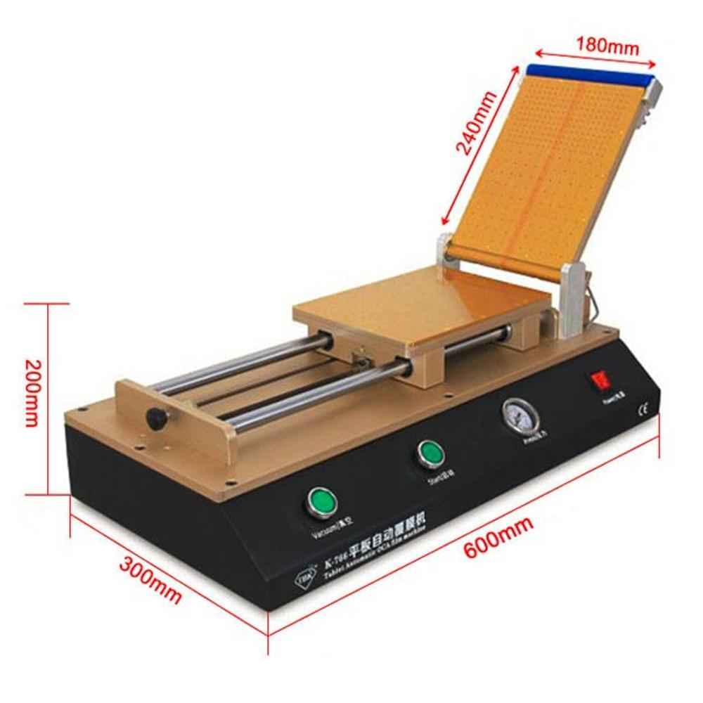 "Universal Automatic OCA Laminating Machine Polarizer Film Machine for Screen Repair Under 12"""