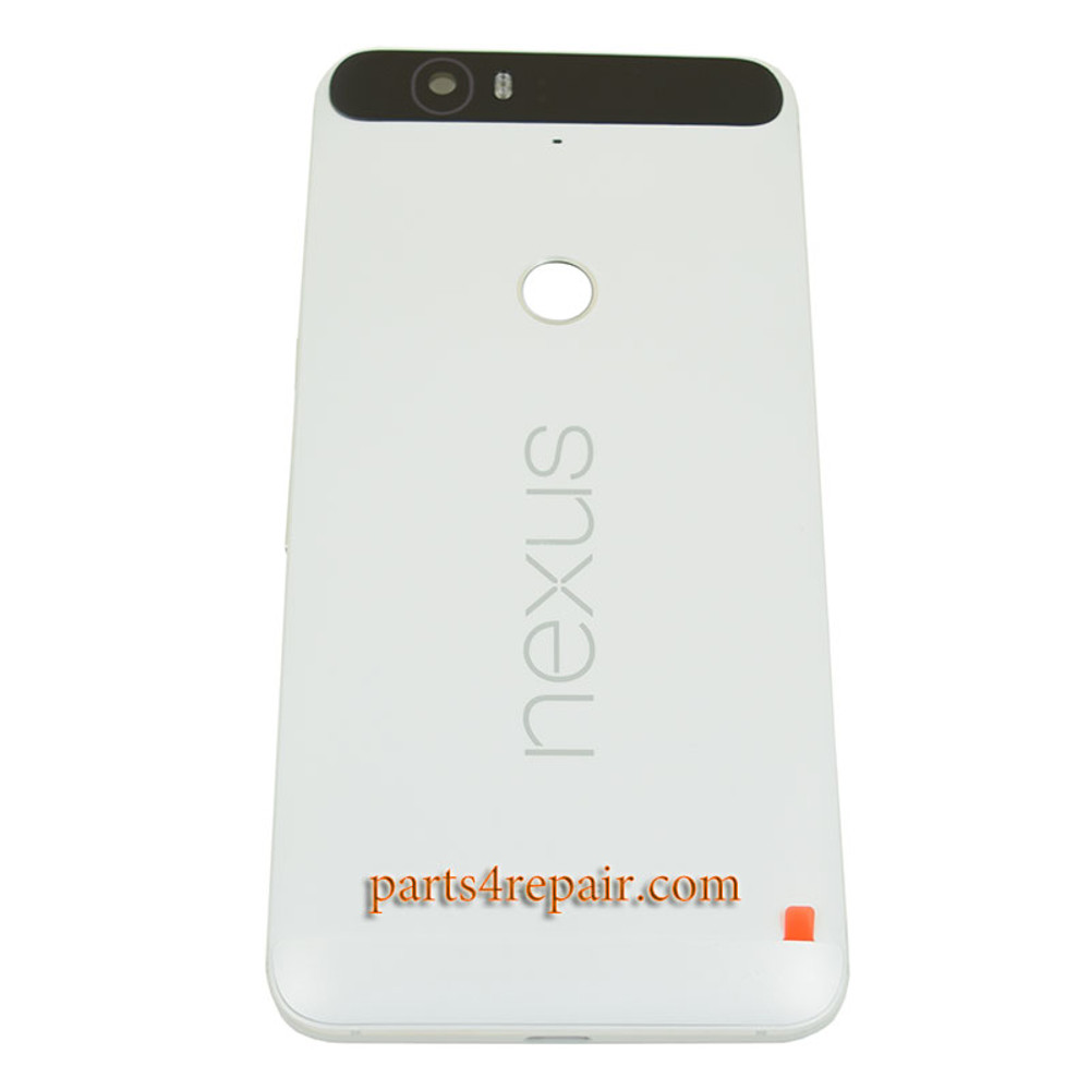 Back Housing Cover with Top Bottom Cover for Huawei Nexus 6P from www.parts4repair.com