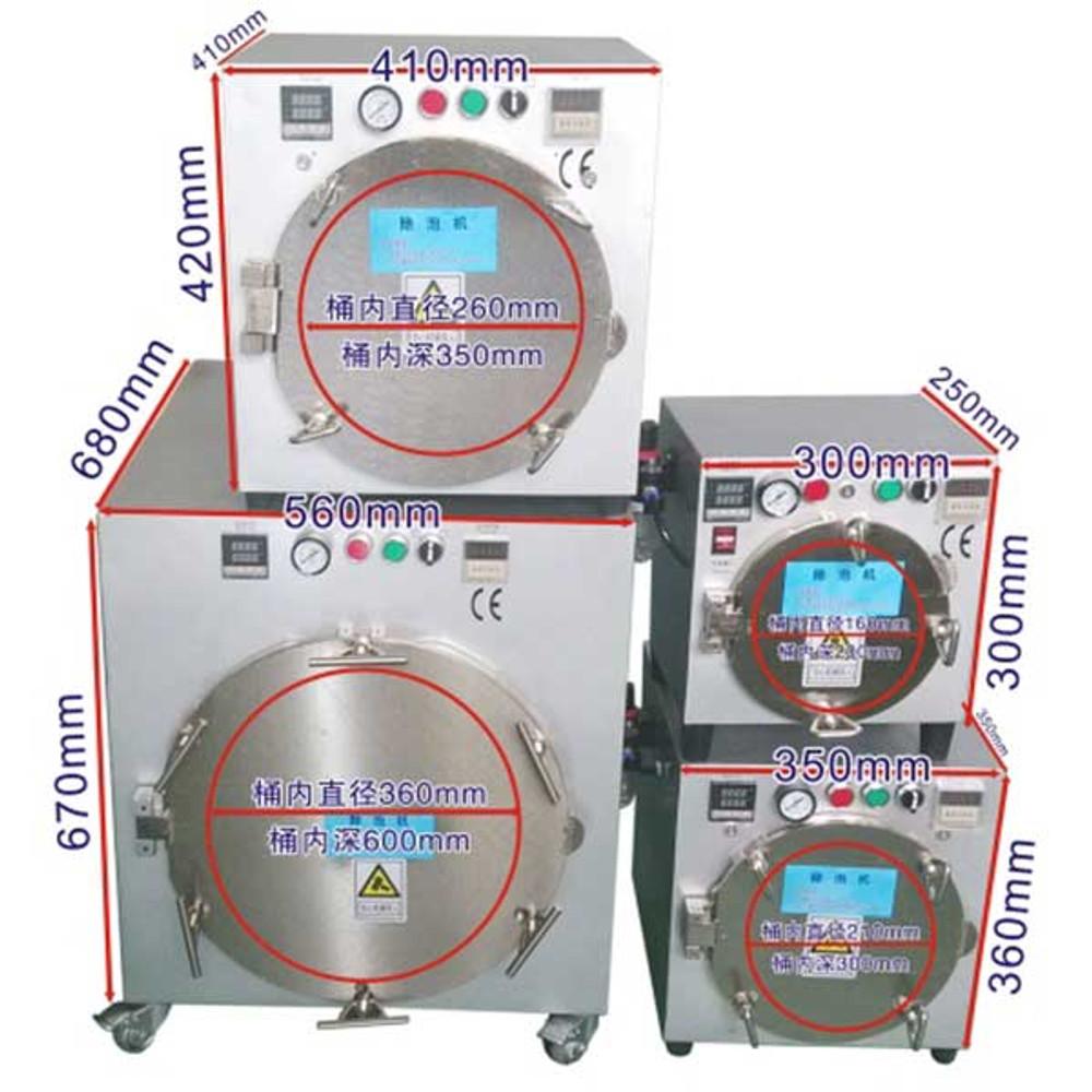 Semi-auto Bubble Removing Machine for Cellhone LCD Repair Refurbish