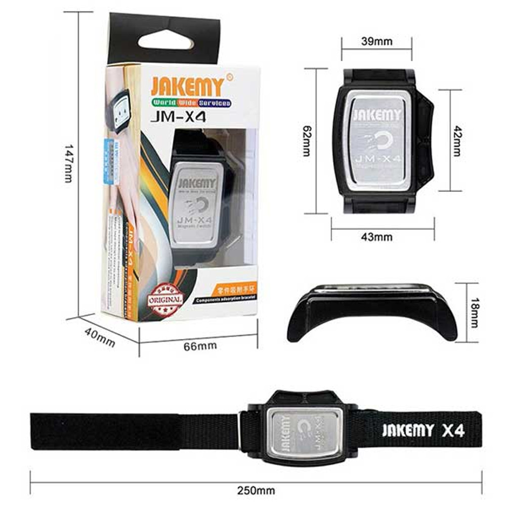 Magnetic Wrist Band for repairing mobile phones