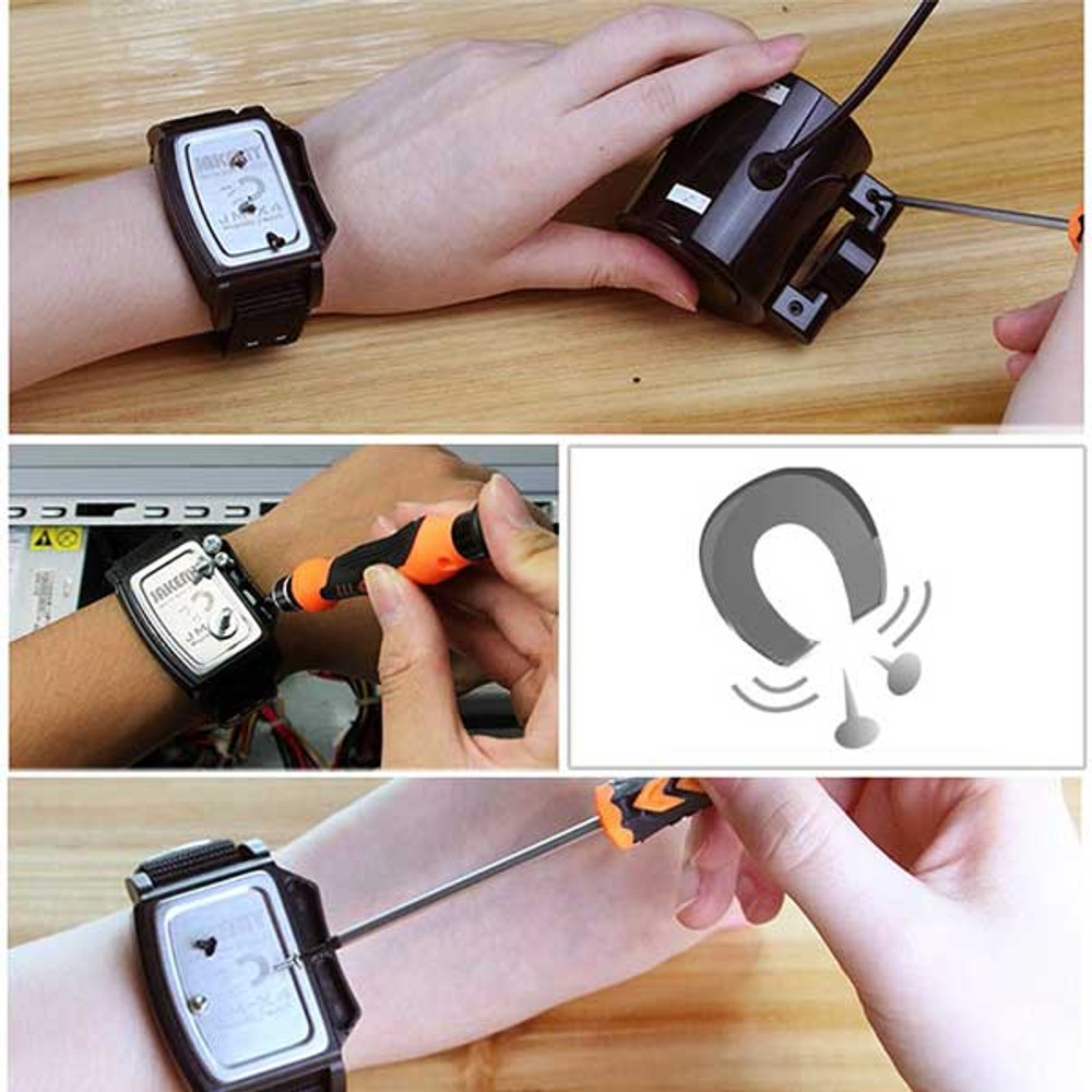 Magnetic Wrist Band for Repairing computers