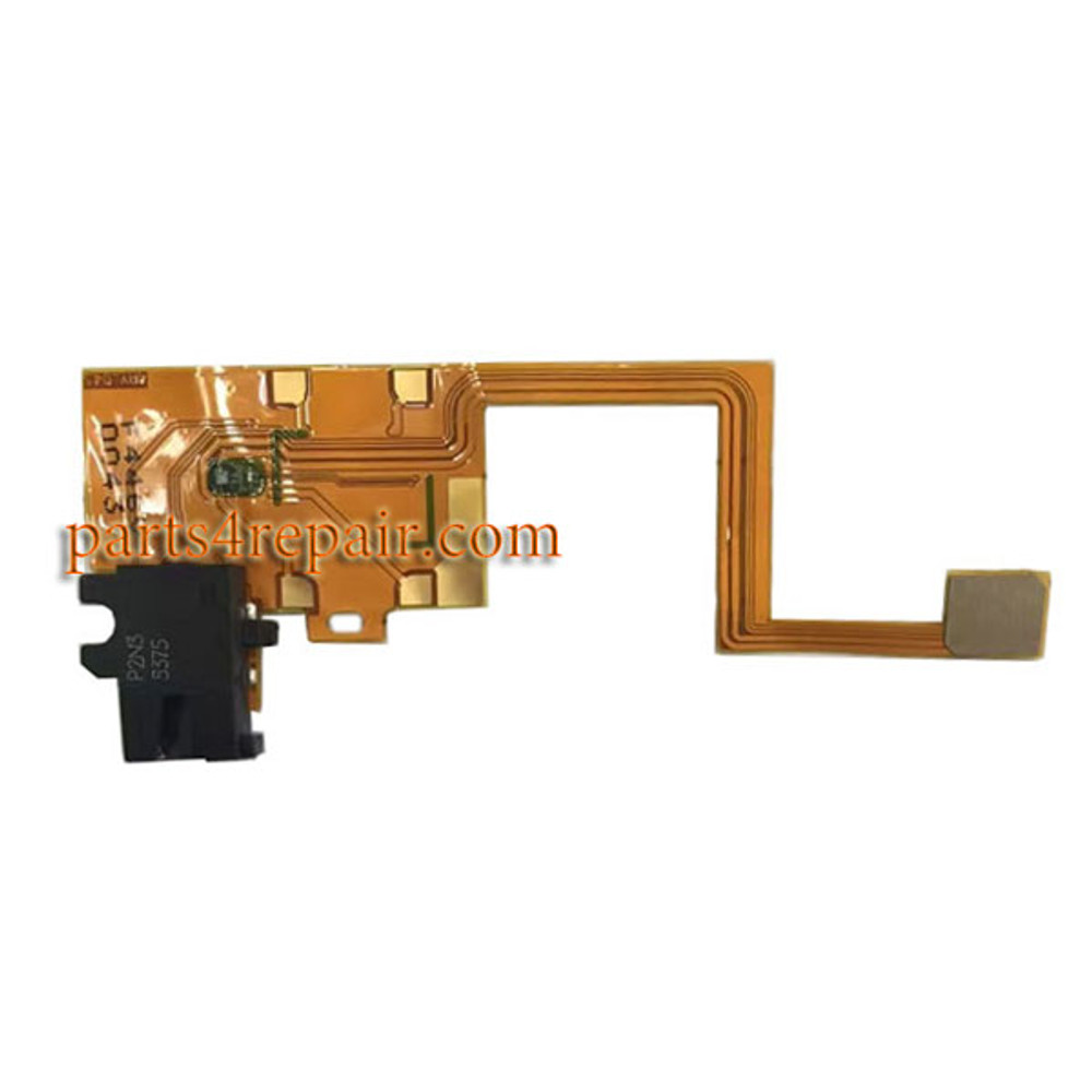 Earphone Jack Flex Cable for Microsoft Lumia 950 from www.parts4repair.com