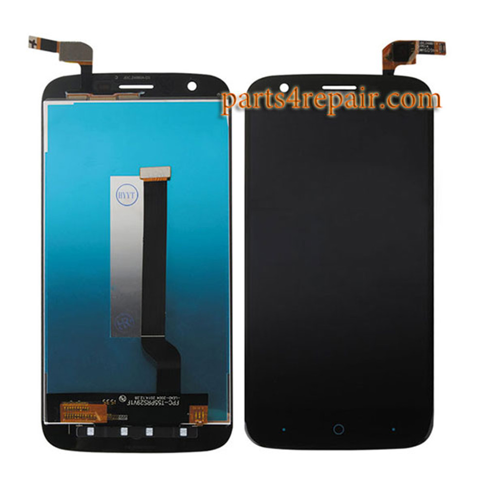 Complete Screen Assembly for ZTE Grand X3 from www.parts4repair.com