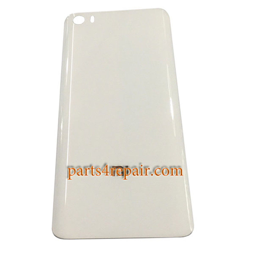Back Glass Cover OEM for Xiaomi Mi 5 from www.parts4repair.com