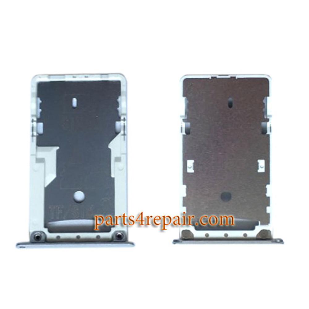 SIM Tray for Xiaomi Redmi 3 (Full Nectom Version) -Silver