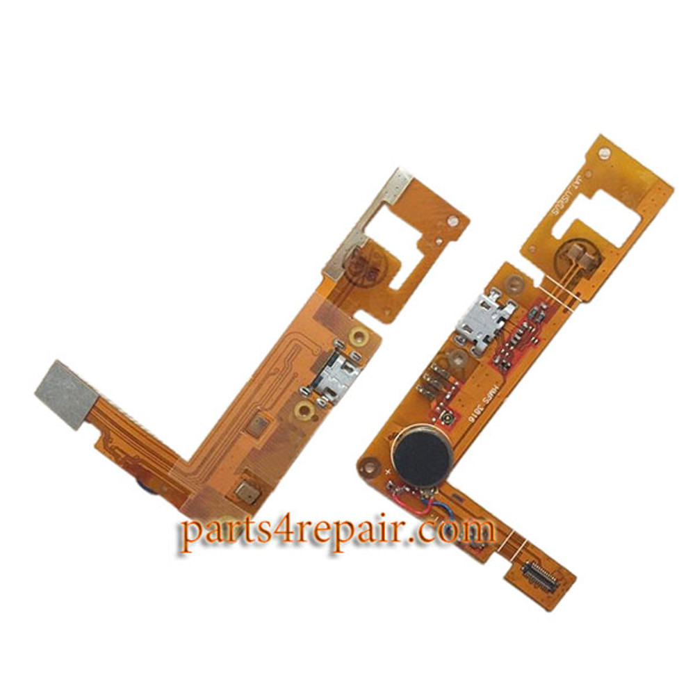 Dock Charging Flex Cable for BlackBerry Z3 from www.parts4repair.com