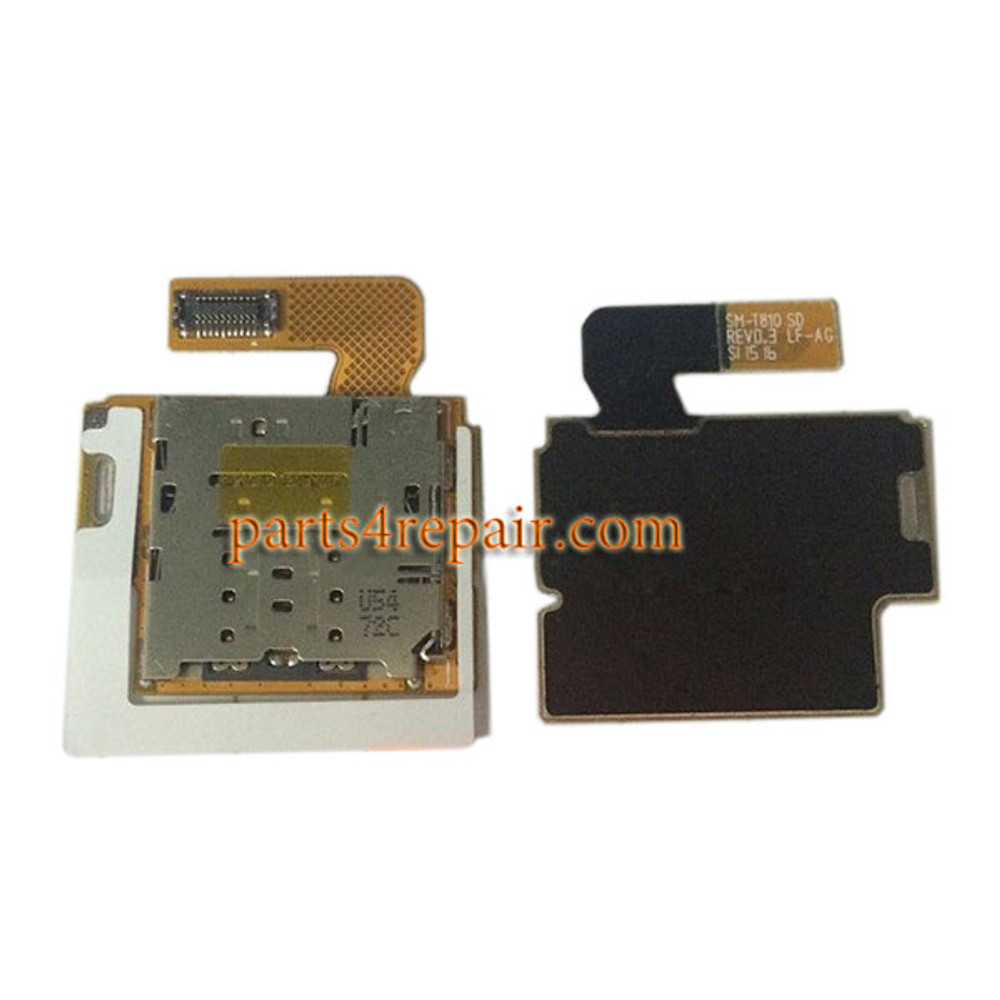MicroSD Connector Flex Cable for Samsung Galaxy Tab S2 9.7 T810