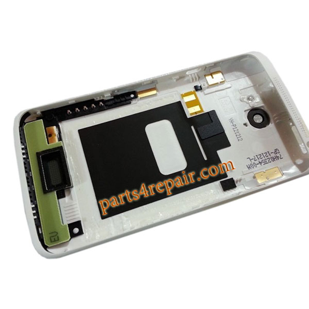 Back Housing Cover with Side Keys for HTC One X +