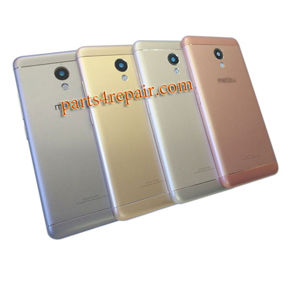 Back Housing Cover with Side Keys for Meizu M3s from www.parts4repair.com