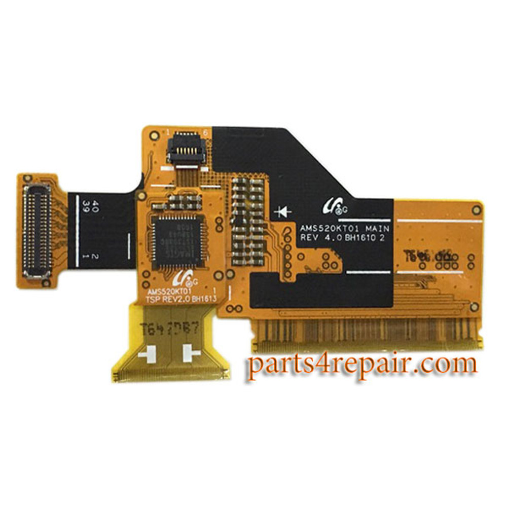 LCD Flex Cable for Samsung Galaxy J5 (2016) from www.parts4repair.com