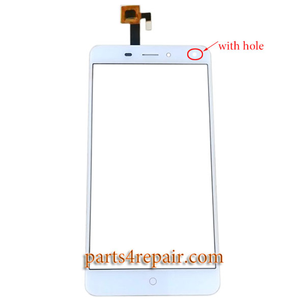 Touch Screen Digitizer with Hole for ZTE Nubia N1 NX541J from www.parts4repair.com