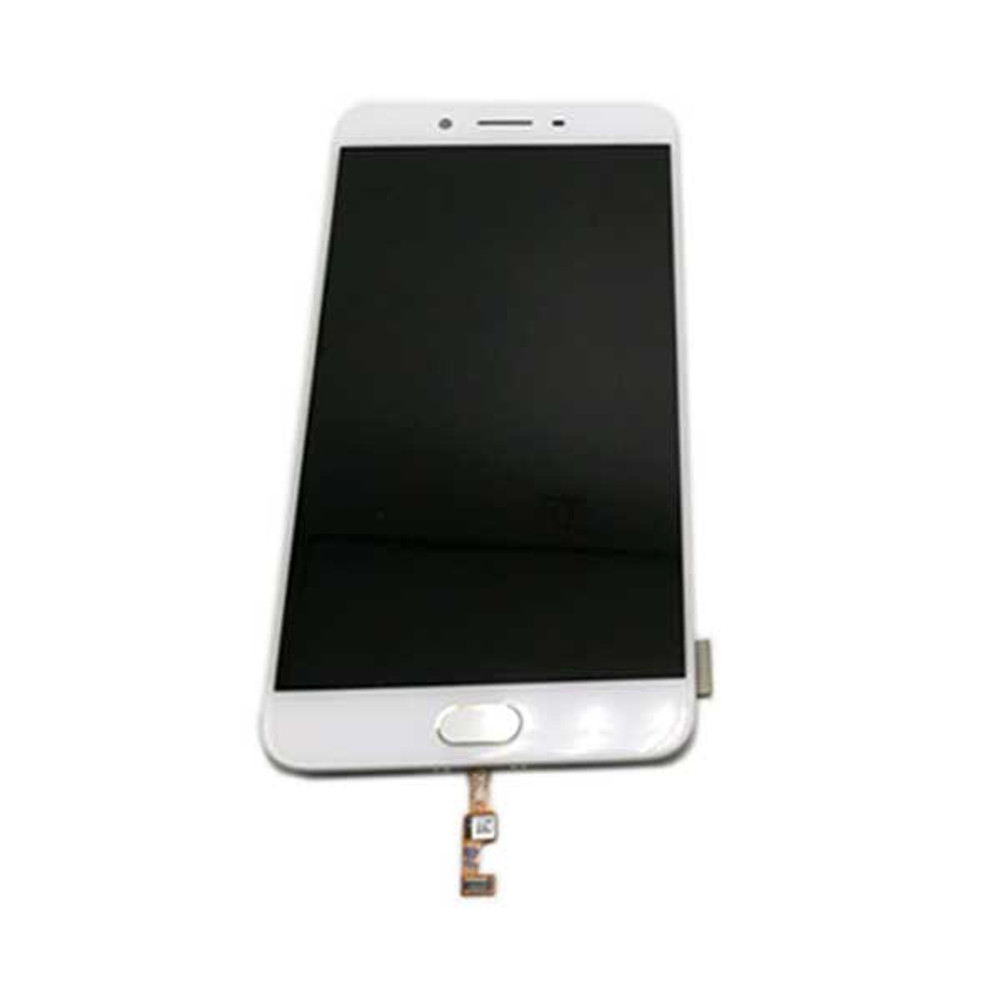 Complete Screen Assembly with Bezel for Oppo R11 from www.parts4repair.com