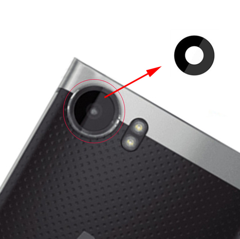 Camera Glass Lens with Adhesive for BlackBerry Keyone from www.parts4repair.com