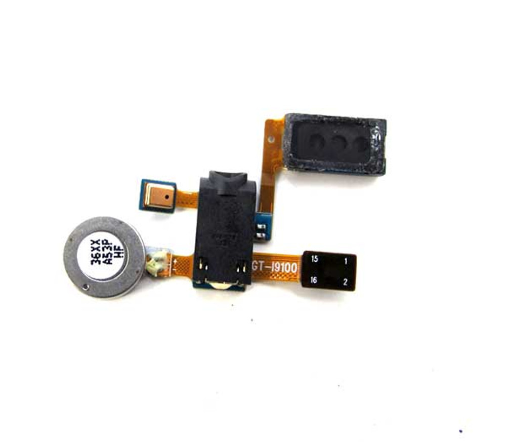 Samsung I9100 Galaxy S II Earpiece Speaker with Vibrator from www.parts4repair.com