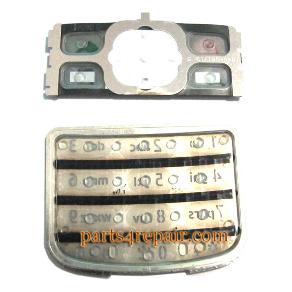 Nokia 6700 Keypad Keyboard Replacement