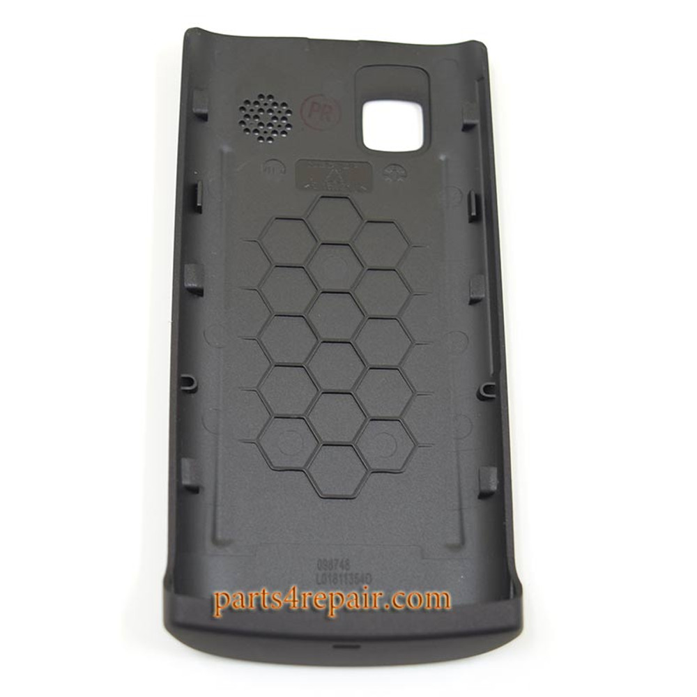Back Cover for Nokia 500 -Black