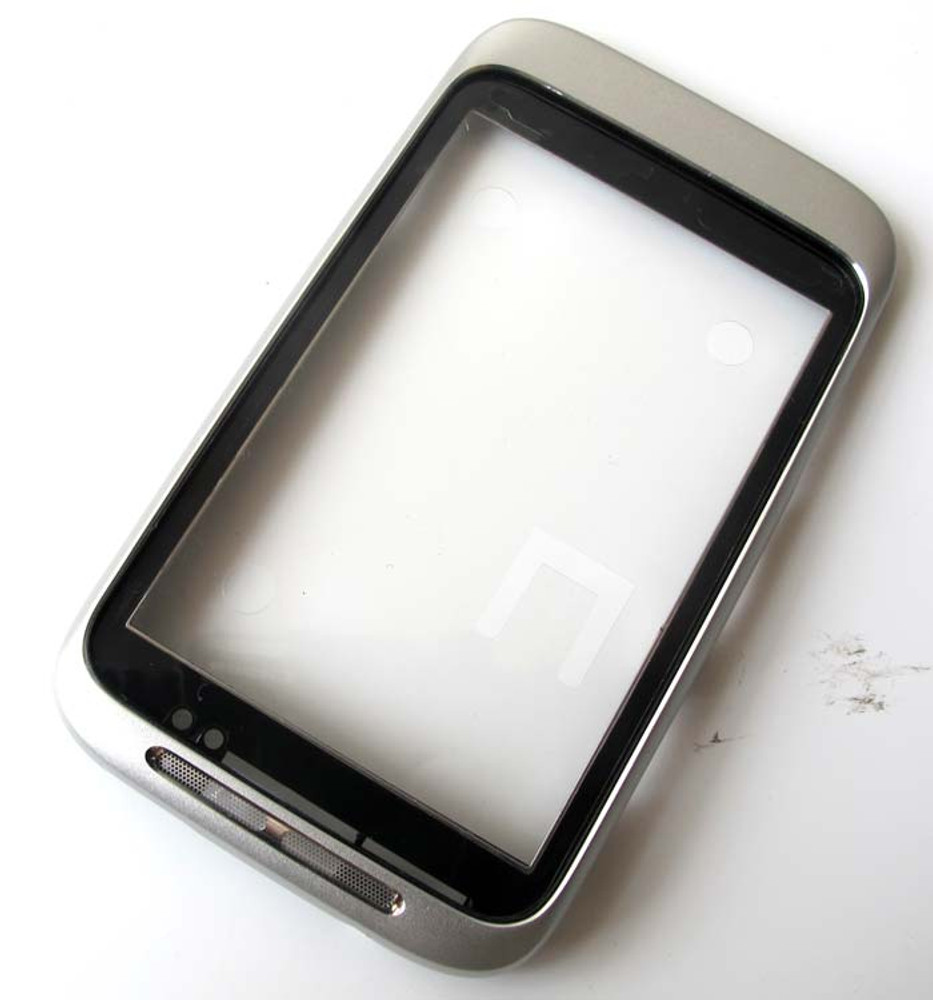 HTC Wildfire S Front Cover -Sliver