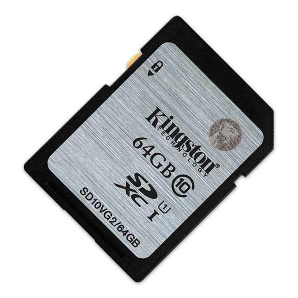 Kingston 64GB SDHC Class 10 Memory Card 80MB/S UHS-I Flash Card