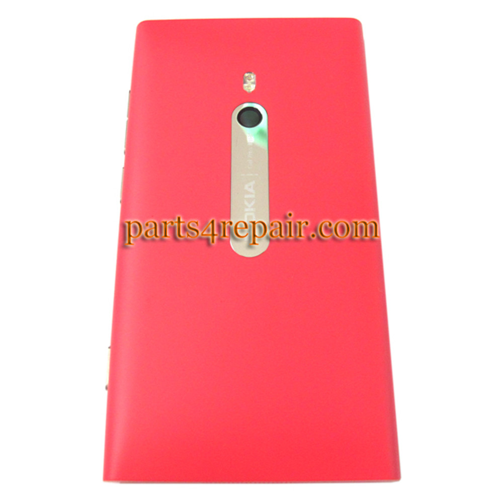Nokia Lumia 800 Back HousingAssembly Cover -Magenta from www.parts4repair.com