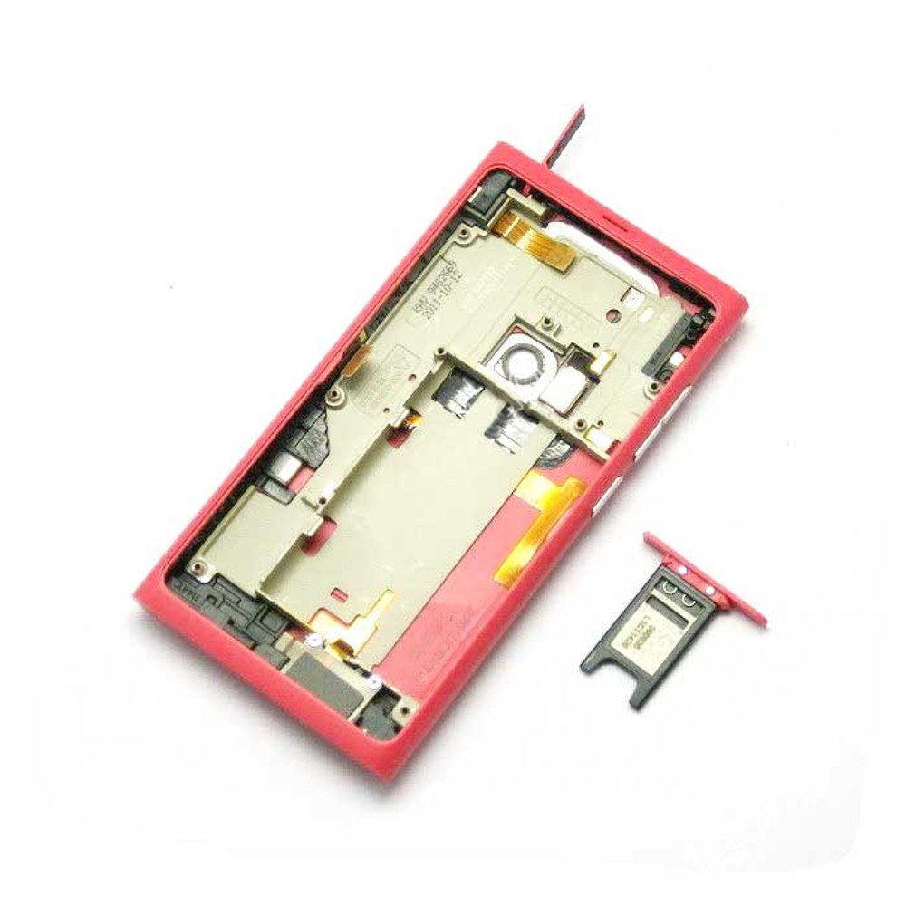 Nokia N9 Full Housing Cover Case -Red from www.parts4repair.com