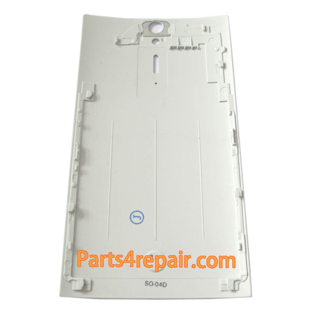 Battery Cover for Sony Xperia S -White