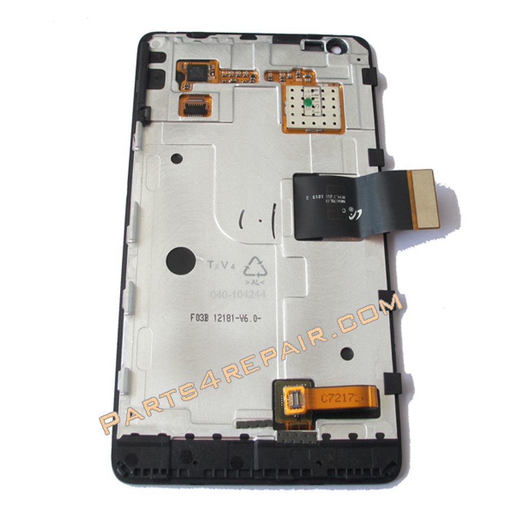Nokia Lumia 900 (at&t version) Complete Screen Assembly with Bezel