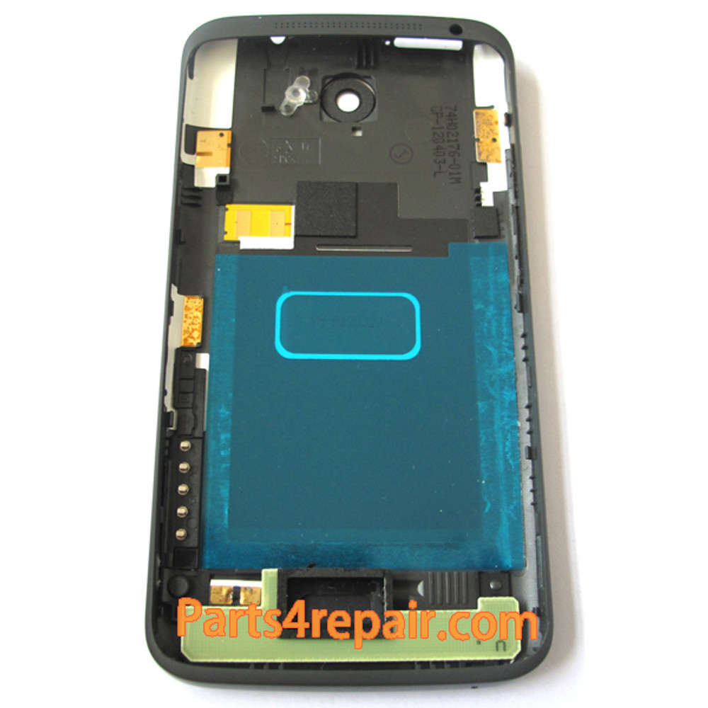 Back Housing Assembly Cover for HTC One X -Black