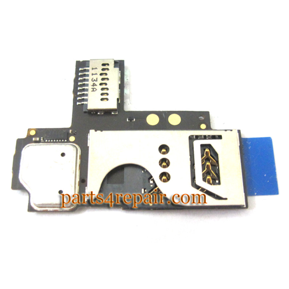 BlackBerry Curve 9360 SIM Holder Flex Cable from www.parts4repair.com