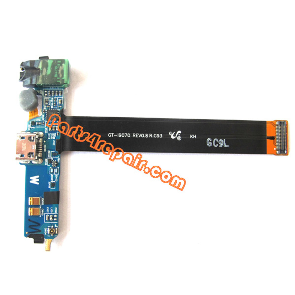 Samsung I9070 Galaxy S Advance Dock Charging Port Flex Cable from www.parts4repair.com