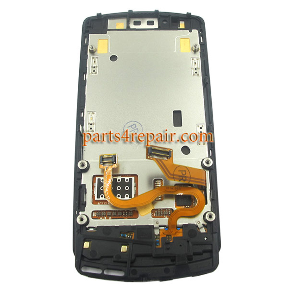 Complete Screen Assembly with Bezel for Nokia 700 -Black
