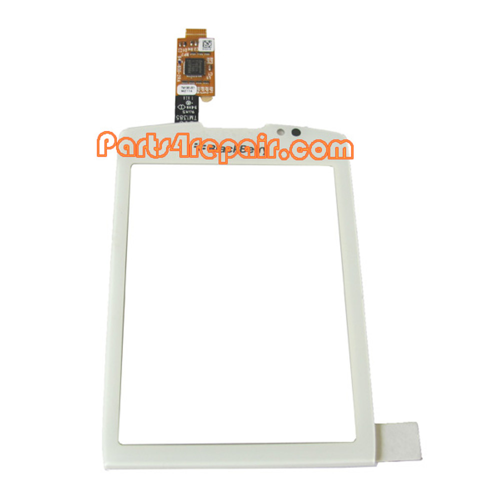 BlackBerry Torch 9810 Touch Screen with Digitizer -White from www.parts4repair.com