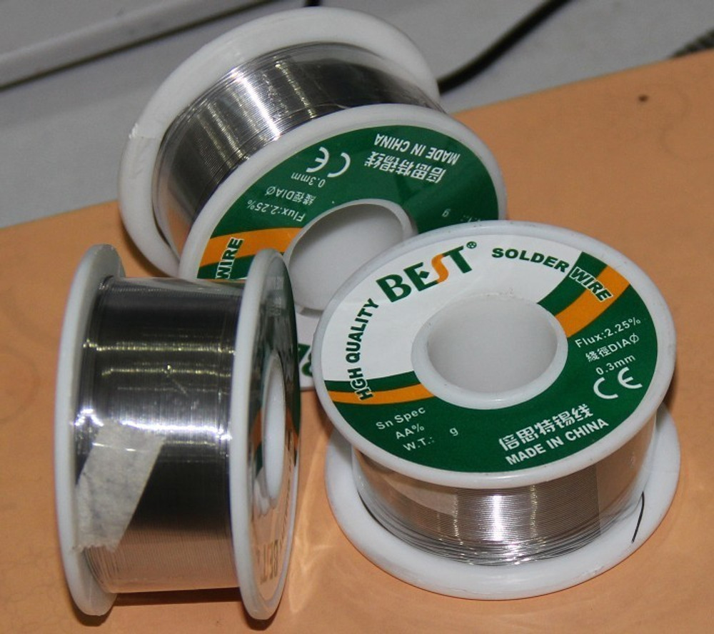 Best 0.3/0.4/0.5/0.6/0.8/1.0mm Tin Lead Solder Soldering Wire Rosin Core from www.parts4repair.com