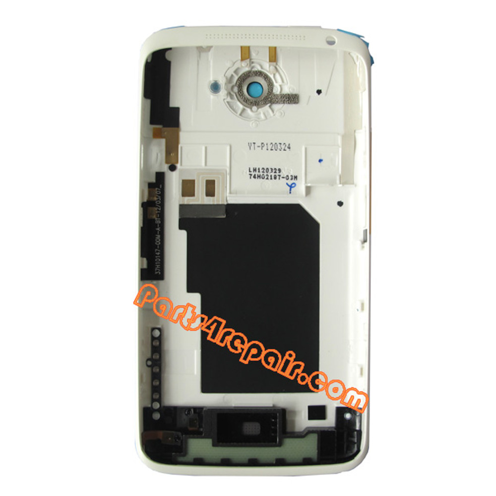 We can offer Back Housing Cover with Side Keys for HTC One X (AT&T) -White