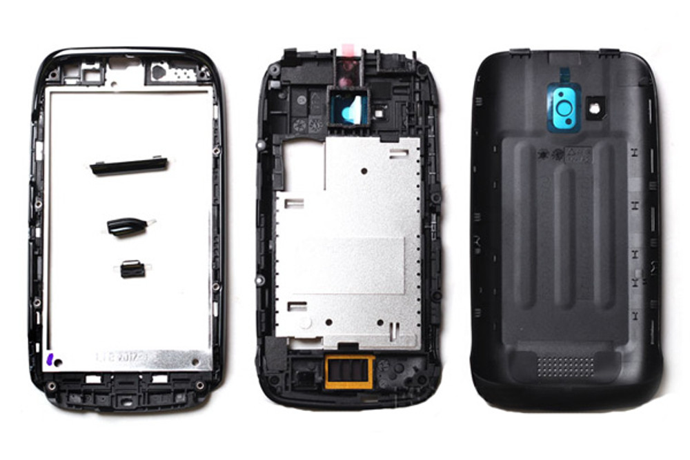 Full Housing Cover for Nokia Lumia 610 -Black