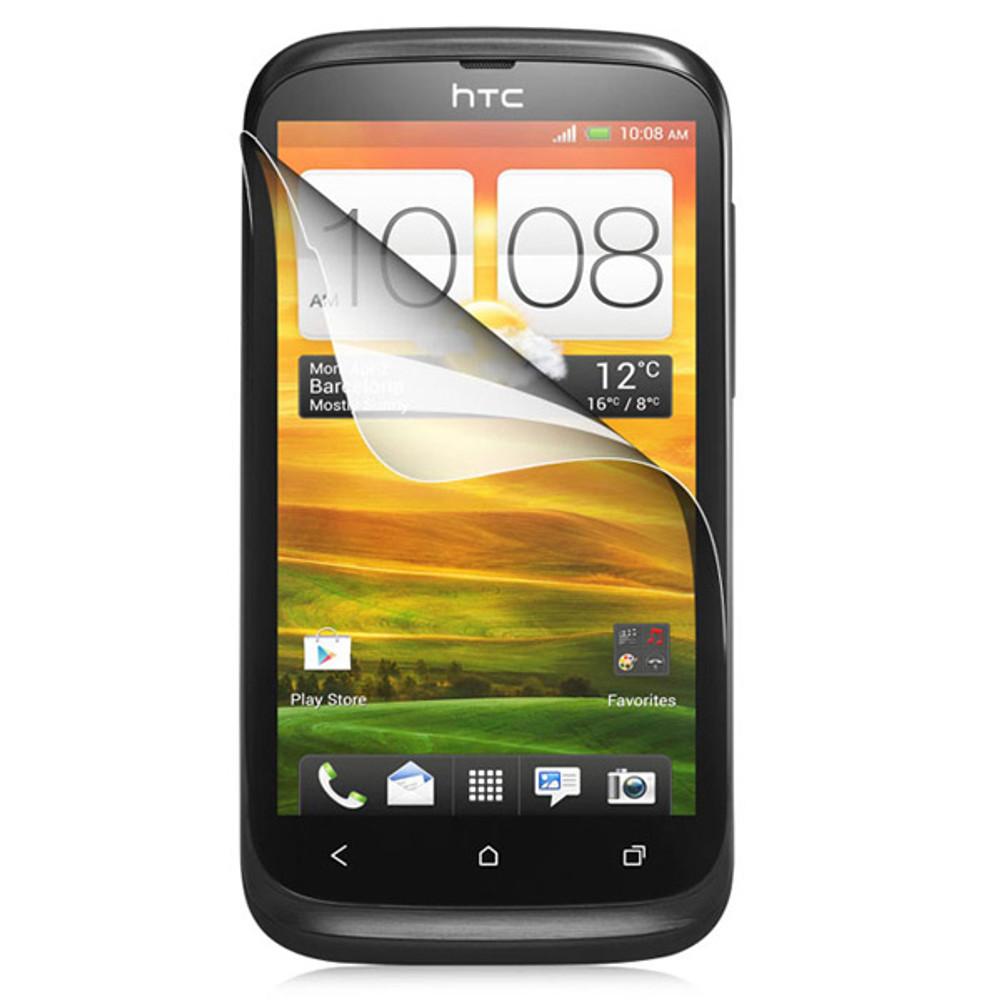 HTC Desire V Clear Screen Protector Shield Film -3X
