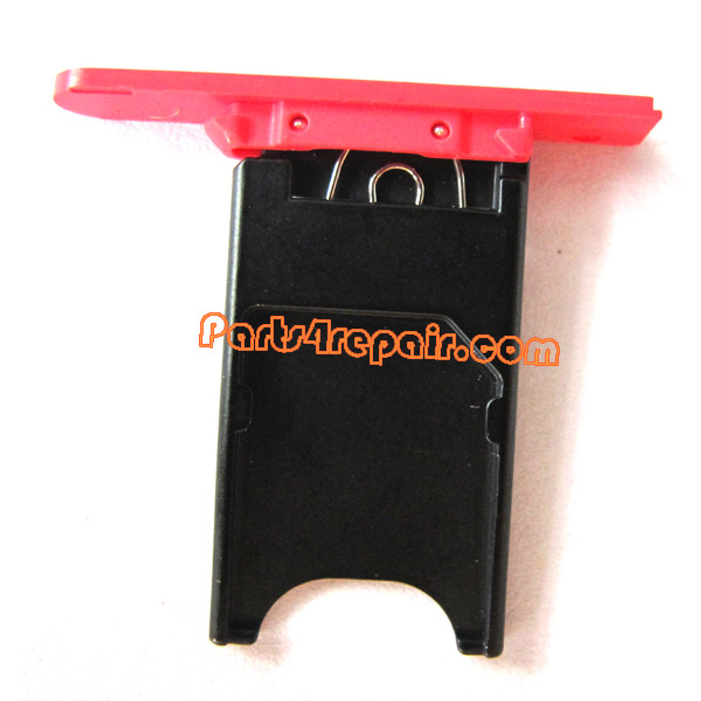 Nokia Lumia 800 SIM Tray -Red
